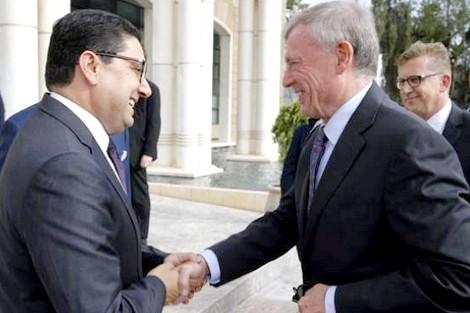 الرباط… بوريطة يستقبل المبعوث الشخصي للأمين العام للأمم المتحدة إلى الصحراء المغربية