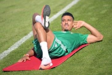 نبيل درار حاضر في مباراة الأسود ضد إيران