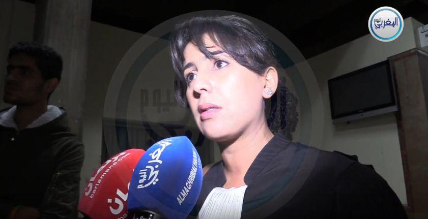 """بالفيديو… المحامية مريم جمال الإدريسي: """"قضية الريف والمهداوي أنقى وأشرف من جرائم توفيق بوعشرين"""""""
