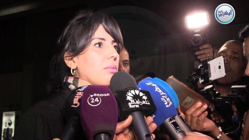 """بالفيديو… المحامية مريم جمال الإدريسي: """"اتصالات مكثفة لدفاع بوعشرين بالمصرحات للتأثير على مسار المحاكمة"""""""