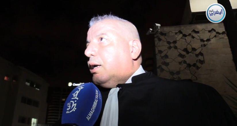 """بالفيديو… المحامي زهراش: """"التستر على شاهد في الدار ديال محامي راه حرام ا عباد الله"""""""