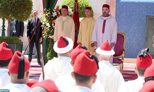 الملك يترأس بطنجة حفل استقبال بمناسبة عيد العرش