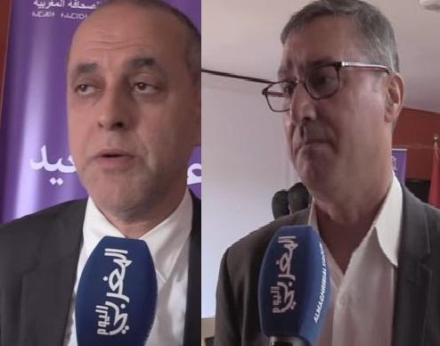 بالفيديو… البقالي ومجاهد يتدارسان مع اليونسكو  آليات حماية الصحافيين المغاربة