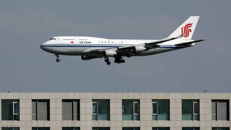 """""""إنذار كاذب"""" يرجع طائرة صينية إلى باريس"""