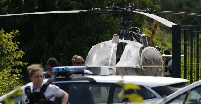 فرنسا… استمرار البحث عن السجين الفار بواسطة طائرة مروحية