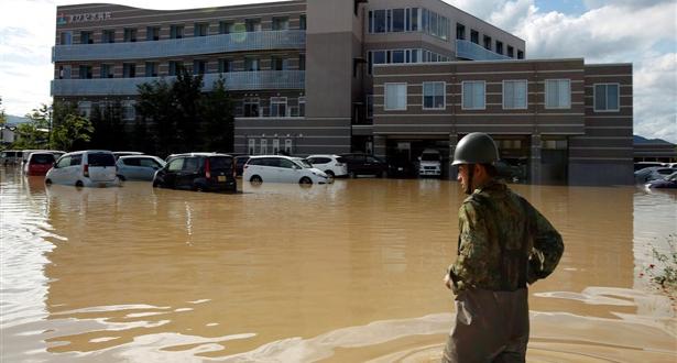 وفاة نحو 200 شخص جراء الأمطار والسيول في اليابان