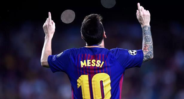 ميسي يحث إدارة برشلونة على ضم نجم بلجيكي
