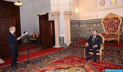 الملك يستقبل بالحسيمة والي بنك المغرب
