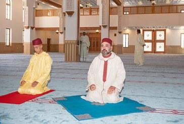 الملك محمد السادس بمراكش بمناسبة عيد المولد النبوي الشريف