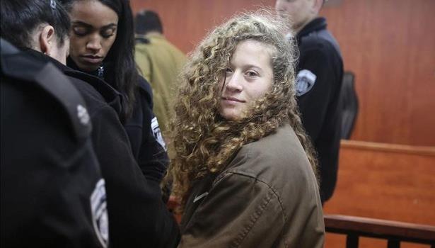 الناشطة الفلسطينية عهد التميمي تستعد لمغادرة السجن