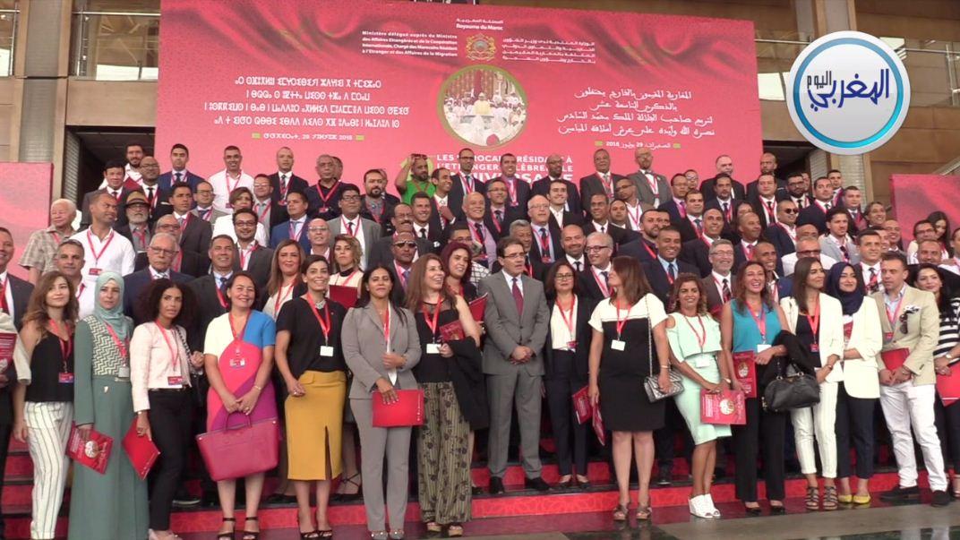 بالفيديو… من قلب الصخيرات ووسط مغاربة العالم بنعتيق يبعث رسائل دالة تزامنا مع عيد العرش
