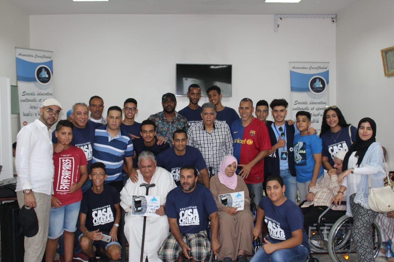 جمعية كازا شباب تدخل الفرحة في نفوس المسنين بإهدائهم كبش العيد وعمرة