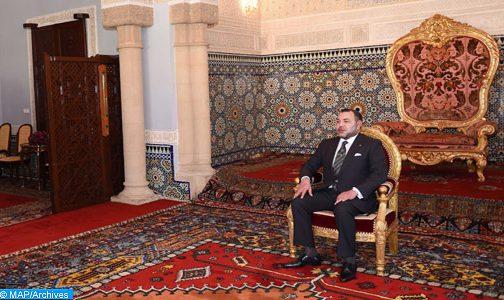 الملك يستقبل عددا من السفراء الأجانب الذين قدموا لجلالته أوراق اعتمادهم