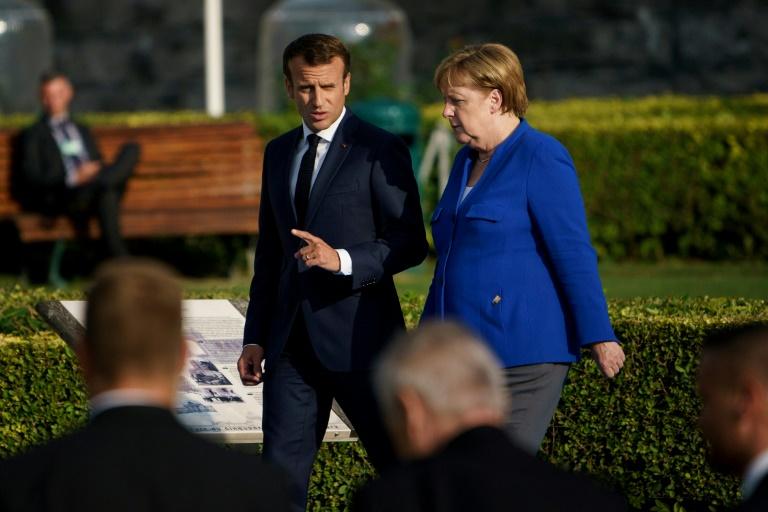 ماكرون يدعو أوروبا لتجنب الاعتماد على الاميركيين في ضمان أمنها