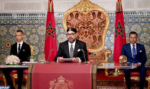 النص الكامل لخطاب الملك بمناسبة الذكرى الخامسة والستين لثورة الملك والشعب