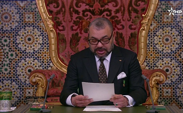 """الملك: """"القرارات الأخيرة لمجلس الأمن الدولي ولقمة الاتحاد الإفريقي تؤكد الاختصاص الحصري للأمم المتحدة في رعاية المسار السياسي"""""""