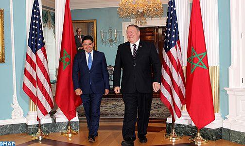 بوريطة ووزير خارجية أمريكا يتفقان على عقد الدورة المقبلة للحوار الاستراتيجي المغرب – الولايات المتحدة