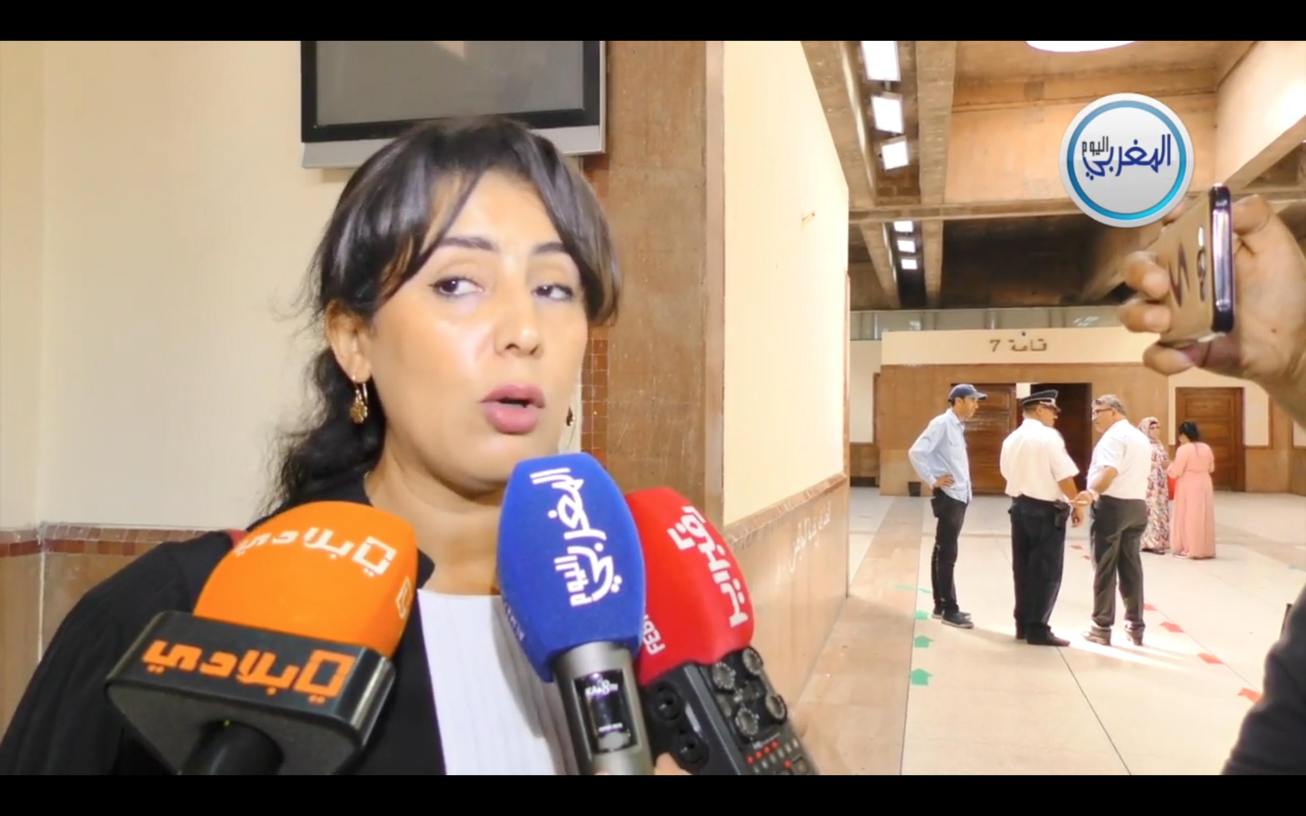 بالفيديو… المحامية الإدريسي: الخبرة القضائية ستكشف الكثير من جوانب ملف بوعشرين