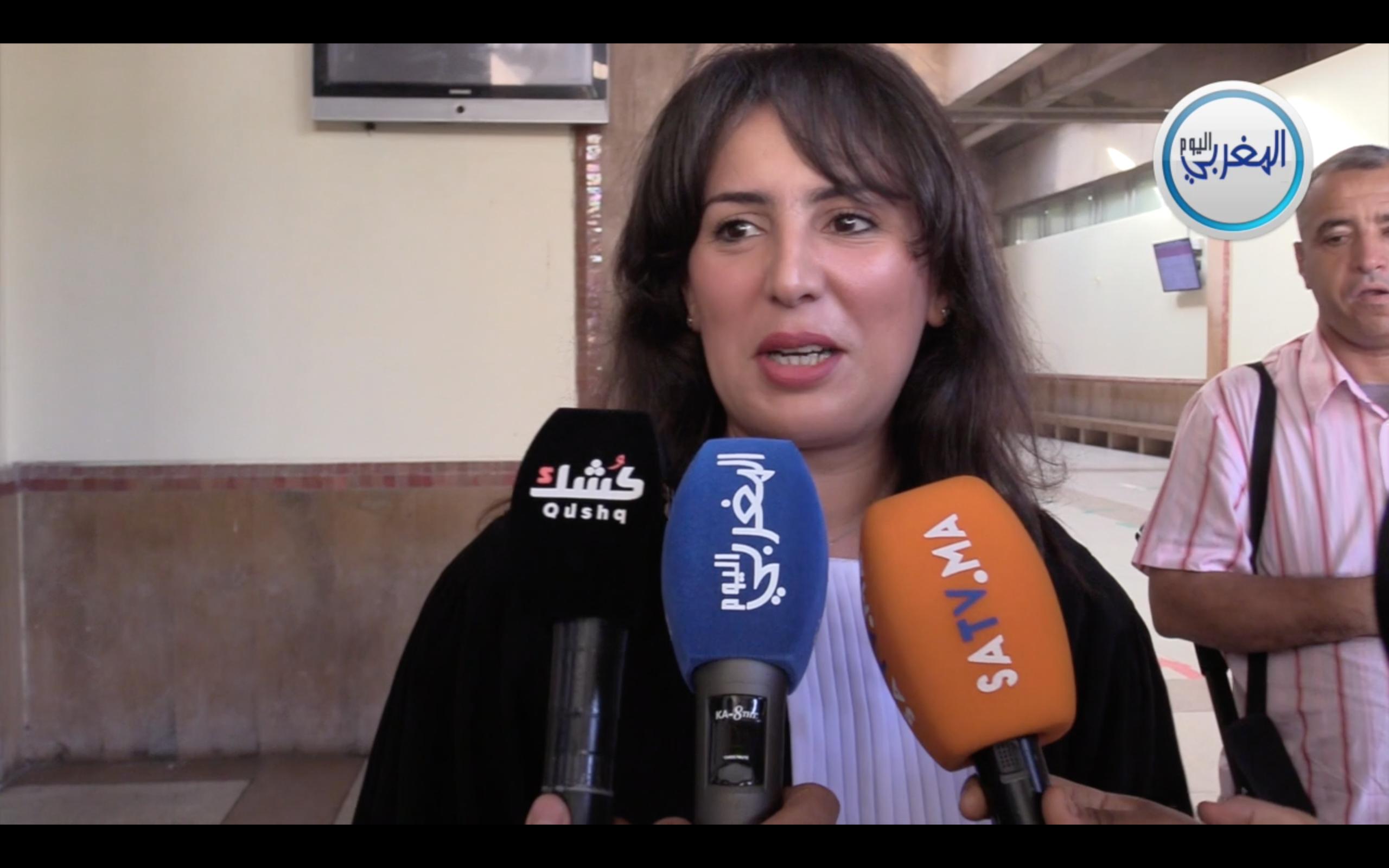بالفيديو… المحامية مريم جمال الإدريسي تعلق على تسريب الصور الجنسية الفاضحة لبوعشرين