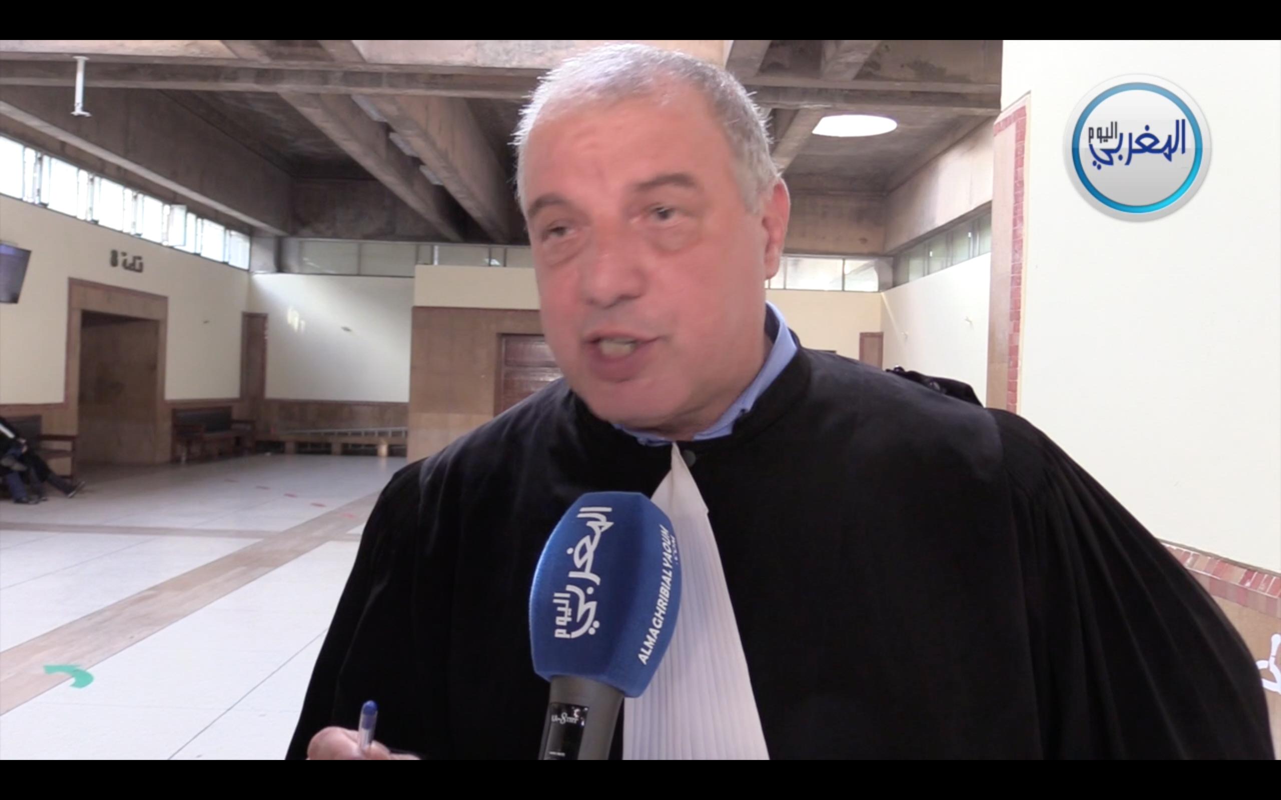 المحامي زهراش دفاع بوعشرين يقدم معطيات زائفة ويمارس التضليل + فيديو
