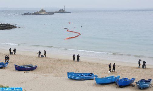 وحدة تابعة للبحرية الملكية تضطر لإطلاق النار على قارب مطاطي سريع