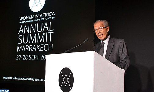 """الملك يوجه رسالة إلى المشاركين في أشغال القمة العالمية الثانية لمبادرة """"نساء في افريقيا"""""""