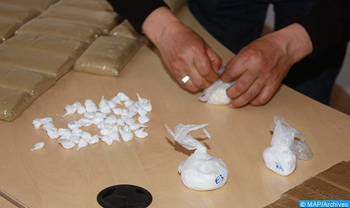 حجز 420 غراما من مخدر الكوكايين ضواحي طنجة