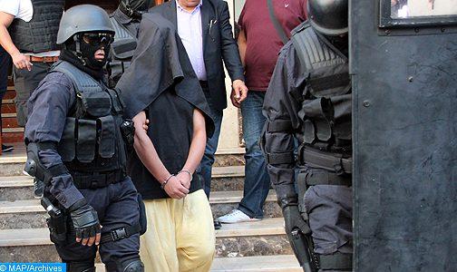 """""""البسيج"""" و """"الديستي"""" يضربان بقوة… اعتقال 12 مشتبها بهم ينتمون لشبكة إرهابية تنشط بكل من طنجة والدار البيضاء"""