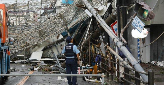 اليابان: سقوط قتلى وجرحى في أقوى إعصار يضرب الأرخبيل منذ سنوات