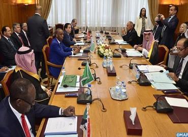 اللجنة الوزارية العربية تعرب عن تضامنها مع المغرب بعد قطع علاقاته مع إيران