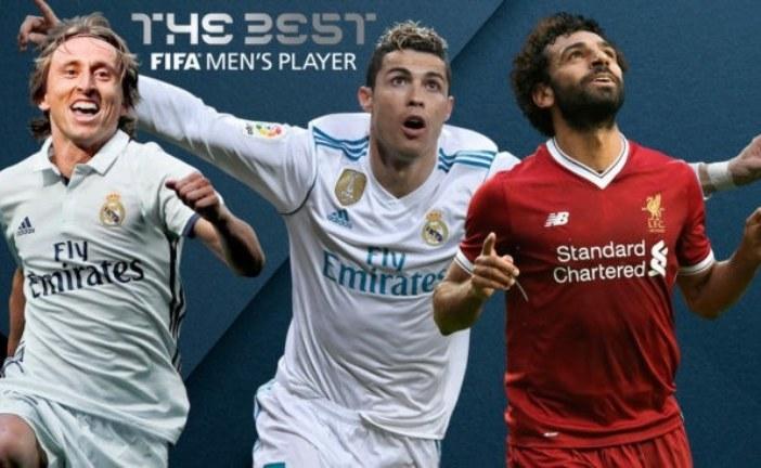 محمد صلاح رونالدو ومودريتش… من هو اللاعب الأفضل في العالم؟