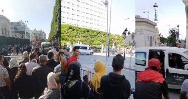 سقوط 10 جرحى فى تفجير تونسية لنفسها فى شارع الحبيب بورقيبة