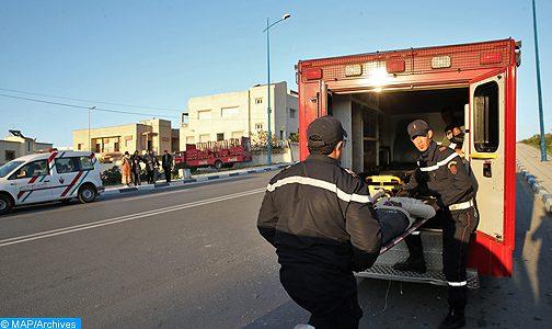 حادث القطار… الملك يصدر تعليماته لنقل المصابين إلى المستشفى العسكري بالرباط ويأمر بفتح تحقيق