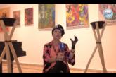 """بالفيديو… لوحات لبابة لعلج """"تبزغ"""" في فضاء دار الصويري بمدينة الفن والتشكيل"""