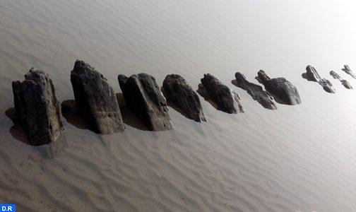 العثور على سفينة أثرية بشاطىء مدينة الصويرة