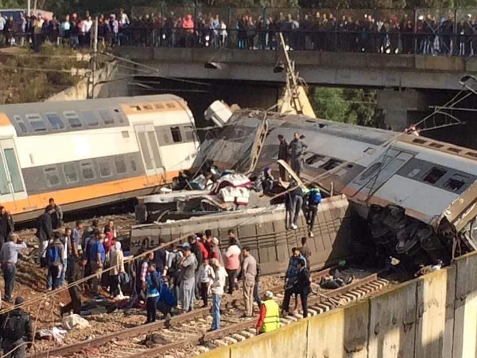 """""""القطار القاتل"""" ببوقنادل… قتلى وجرحى والحصيلة مرشحة للارتفاع"""