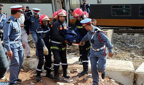 """حصيلة جديدة ل""""القطار القاتل""""… سبع حالات وفاة لحد الساعة"""
