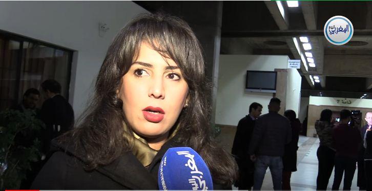 """بالفيديو… المحامية مريم جمال الإدريسي: """"توفيق بوعشرين والساعة الإضافية وخاشقجي وسيدنا يوسف"""""""