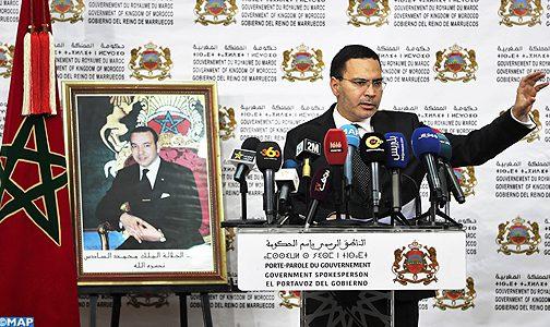 """الخلفي: """"استفزازات (البوليساريو) في المنطقة الواقعة شرق الجدار """"محاولة يائسة"""" مآلها الفشل إزاء تراكم إنجازات المغرب"""