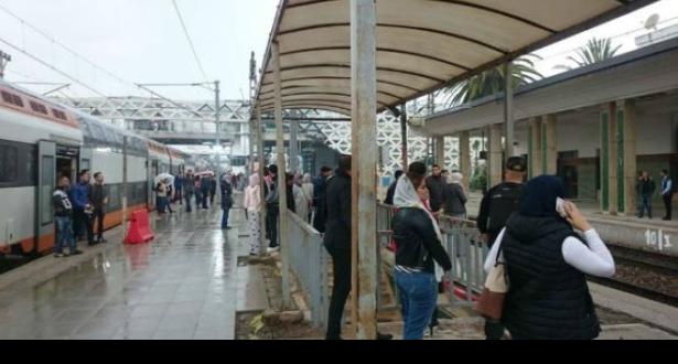 ONCF تواصل استفزاز المغاربة… اضطراب في حركة القطارات على محور الدار البيضاء – القنيطرة