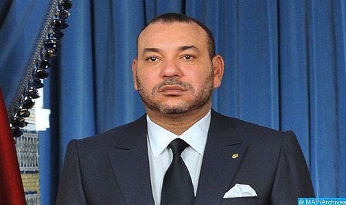 الملك يعزي أفراد أسرة المرحوم الفنان التشكيلي عبد الباسط بن دحمان