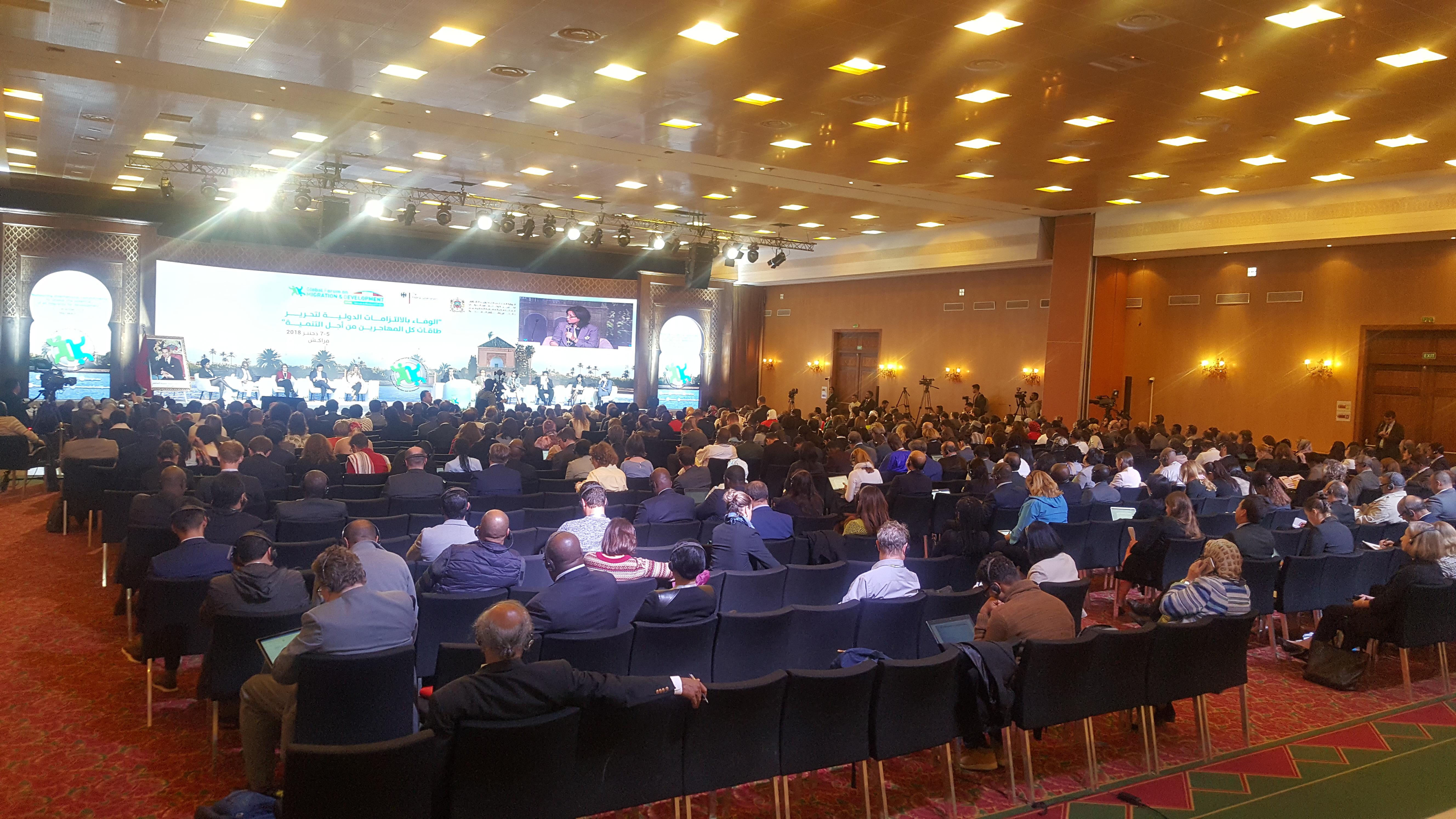 اختتام أشغال المنتدى العالمي من أجل الهجرة والتنمية بمراكش بعد تسليط الضوء على عدد من قضايا الساعة