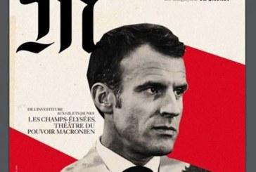لوموند الفرنسية تعتذر عن تشبيه ماكرون بهتلر