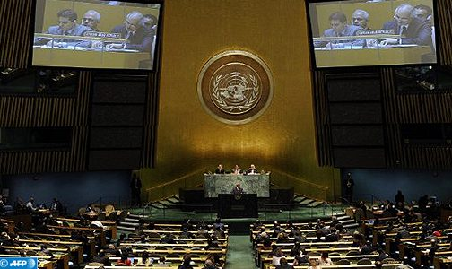 الجمعية العامة للأمم المتحدة تجدد تأكيد دعمها للعملية السياسية الرامية إلى تسوية قضية الصحراء المغربية