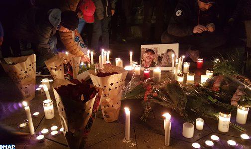 فاجعة إمليل… مغاربة الدنمارك يقيمون تأبينا رمزيا للضحيتين