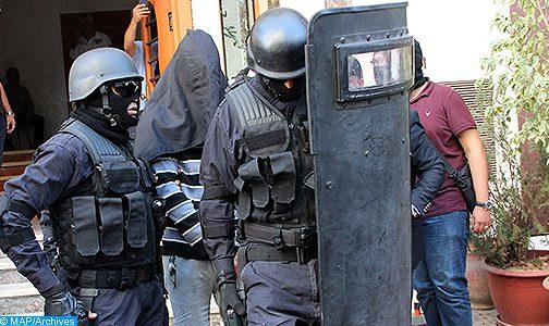 """تفكيك خلية إرهابية تتكون من 6 عناصر ينشطون بمدينة بني ملال يشتبه في موالاتهم ل""""داعش"""""""