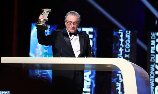 """مراكش تكرم نجم السينما العالمية """"روبر دي نيرو"""""""