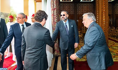 الملك يستقبل بالرباط الأمين العام للأمم المتحدة + تفاصيل اللقاء