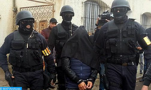 توقيف 9 أشخاص بعدة مدن للاشتباه في ارتباطهم بمرتكبي العمل الإرهابي بإمليل