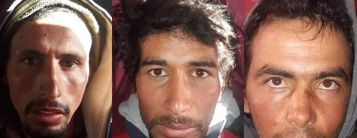 """صور """"الدواعش"""" الثلاثة المتهمين بقتل السائحتين ضواحي مراكش"""